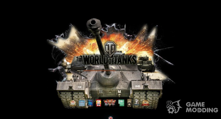 Loading screens of wot