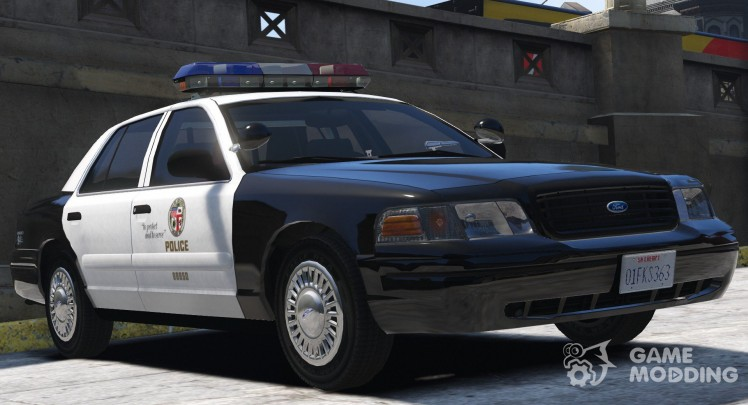 1999 Ford Crown Victoria P71-Los Angeles Police 3.0