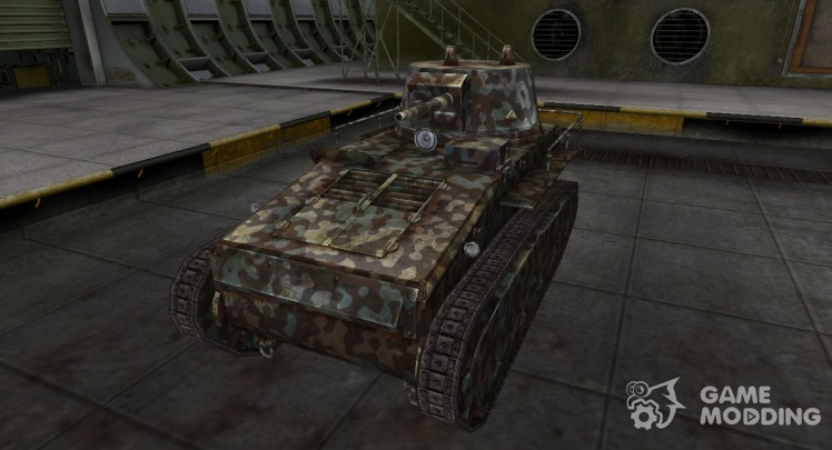 Mountain camouflage for Leichttraktor