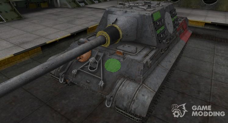Зона пробития Jagdtiger