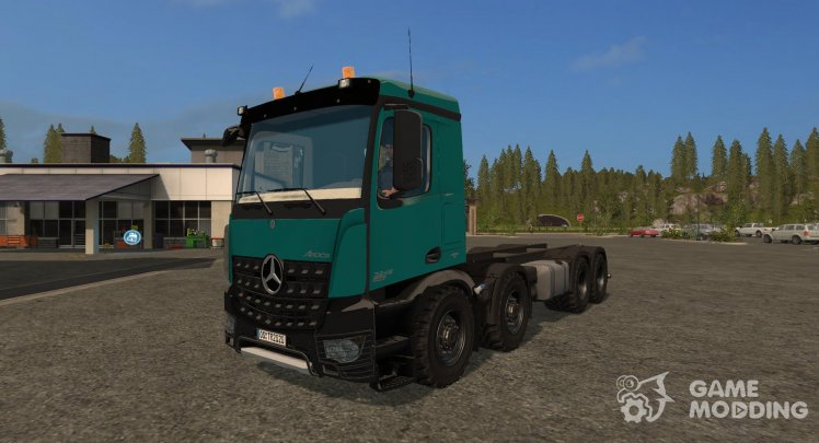 Mercedes-Benz Arocs 8X8 version 1.0