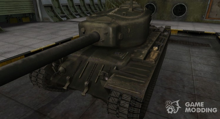 Emery cloth for American tank T34