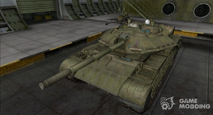 Remodeling of the t-54