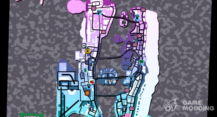 Radar for GTA Vice City