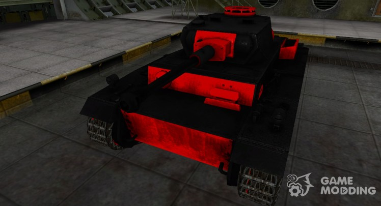 Black and red zone breakthrough VK 30.01 (H)