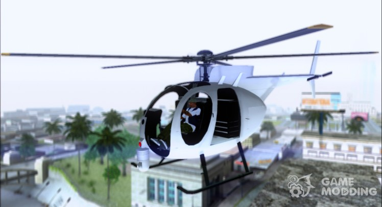 Buzzard Attack Chopper (from GTA 5)