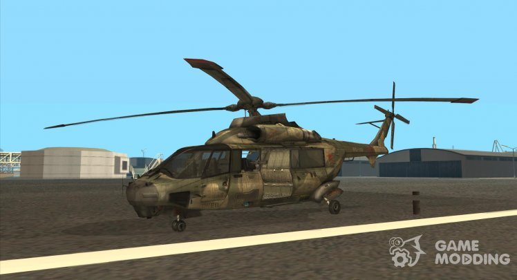 Mi-11 from Fuel of War