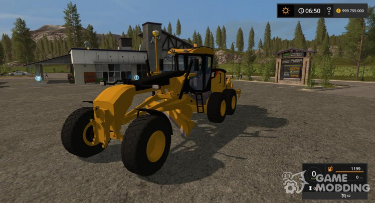 Grader CATERPILLAR 140M for Farming Simulator 2017