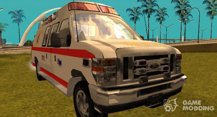 Ford E-350 San Francisco Ambulance