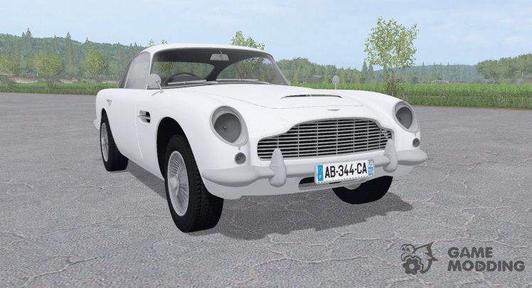 Aston Martin DB5 for Farming Simulator 2017