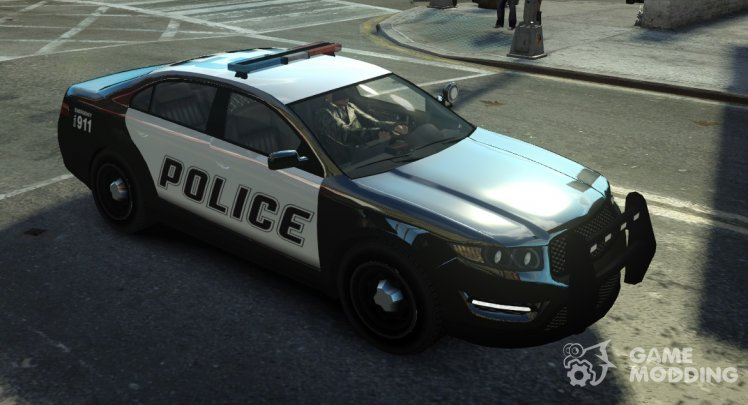 Vapid Police Interceptor from GTA 5 (Non-ELS)