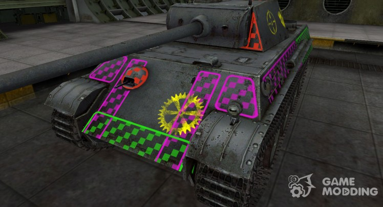 Quality of breaking through for PzKpfw V Panther