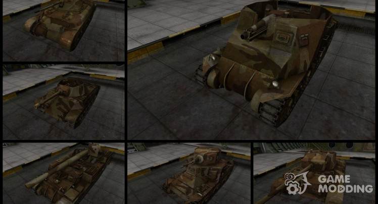 Pak with a camouflage for American tanks v2