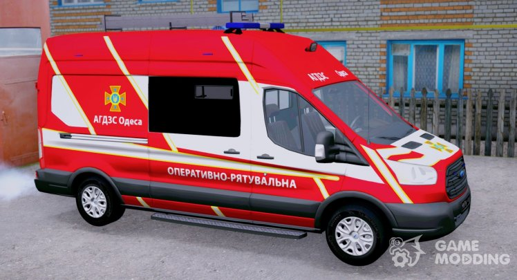 Ford Transit DSNS of Ukraine