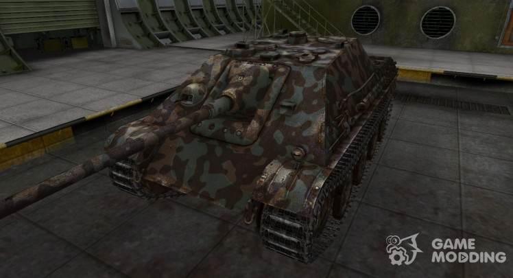 Mountain camouflage for Jagdpanther for World Of Tanks