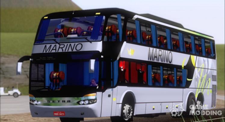 Marcopolo Paradiso 1800 G6 DD Marino Autolinee (Gray)