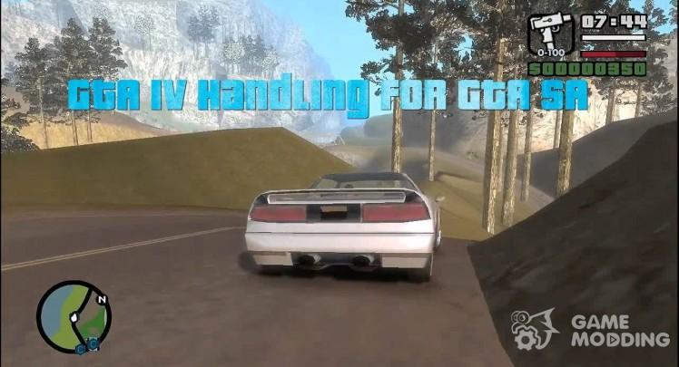 GTA IV Handling.cfg