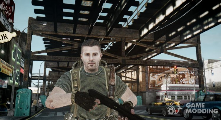 Alex Mason from COD Black Ops