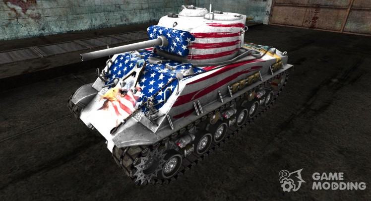 Skin for Independence Day M4A3E8