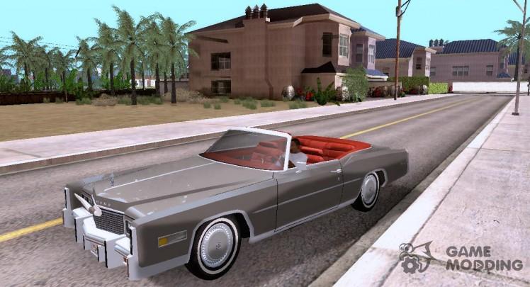 Кабриолет Cadillac Eldorado '76