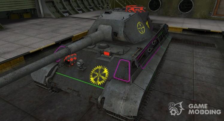 Контурные зоны пробития PzKpfw VIB Tiger II