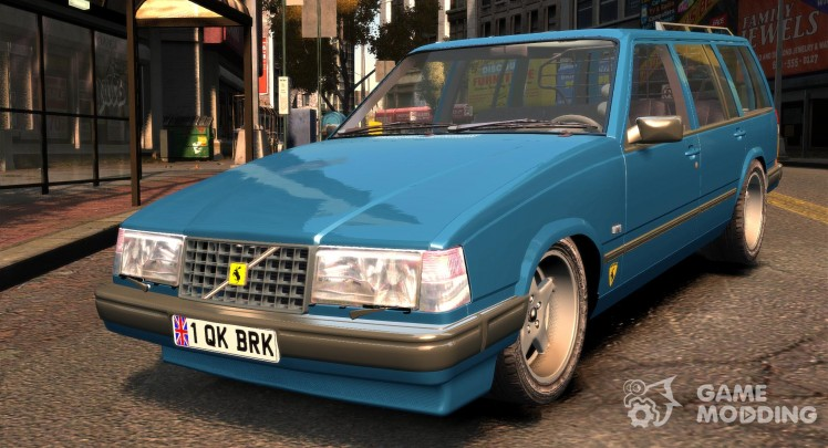 Volvo 945 Wentworth R Ridiculous Drift TurboBrick