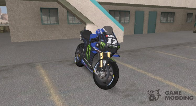 Yamaha YZR-M1 MONSTER ENERGY