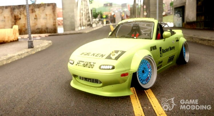 1989 Mazda Miata MX5 Cabrio Rocket Bunny RB Performance