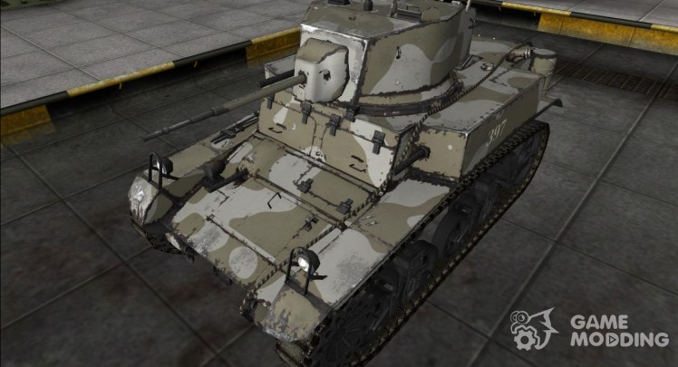 The skin for the M3 Stuart