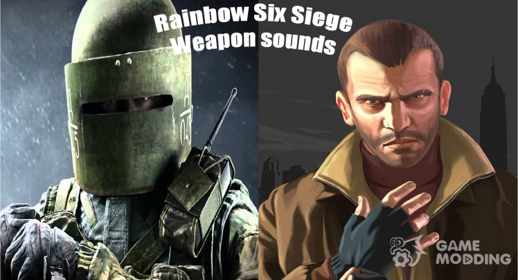 Rainbow Six Siege Weapon sounds