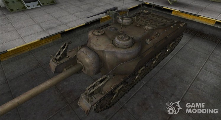 Remodeling for tank T28