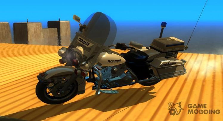Police Bike for GTA San Andreas