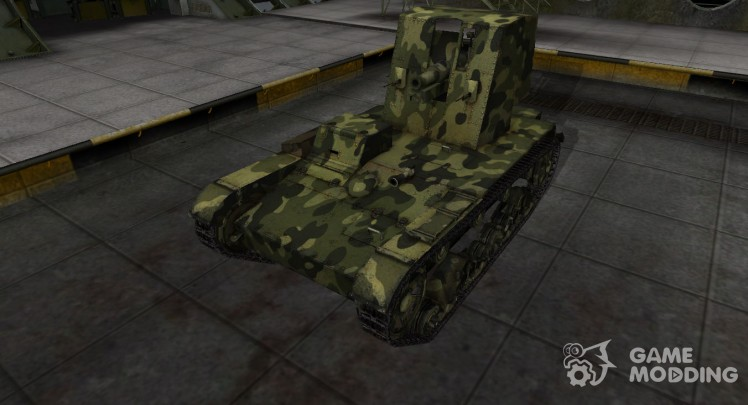 Skin for Su-26 with camouflage