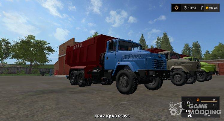 KrAZ-65055 version 1.0.0.0