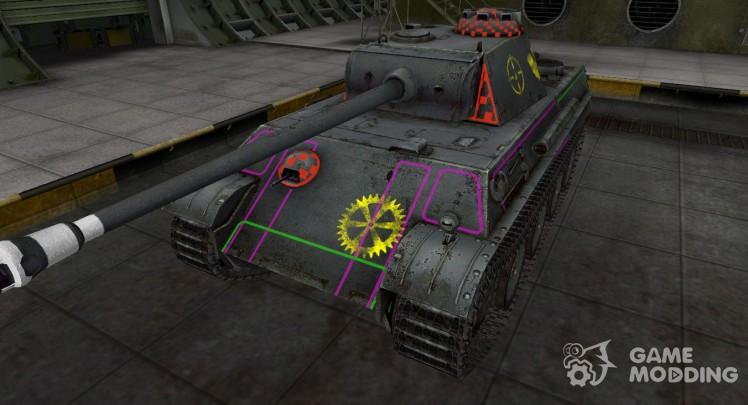 Contour zone breakthrough PzKpfw V Panther
