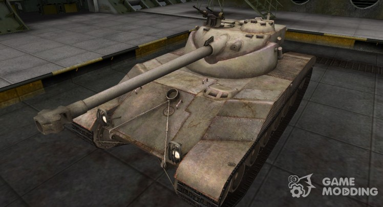 A deserted French skin for Bat Chatillon 25 t