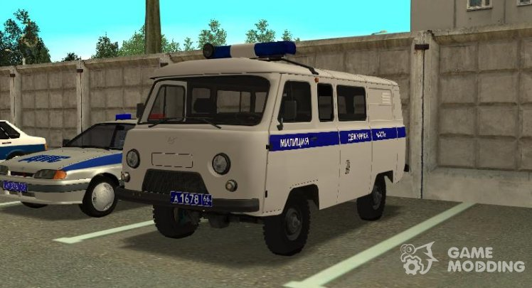 UAZ 3909 Police the Duty of