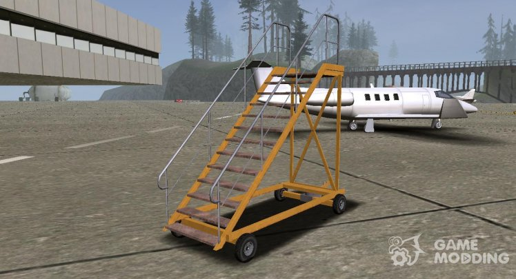 GTA V HVY Airtug (Simple yellow stairs) (Tugstair)