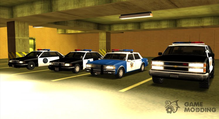 Police Car Pack Sa Style