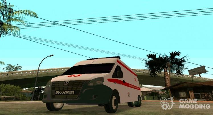 Gazelle Next Ambulance