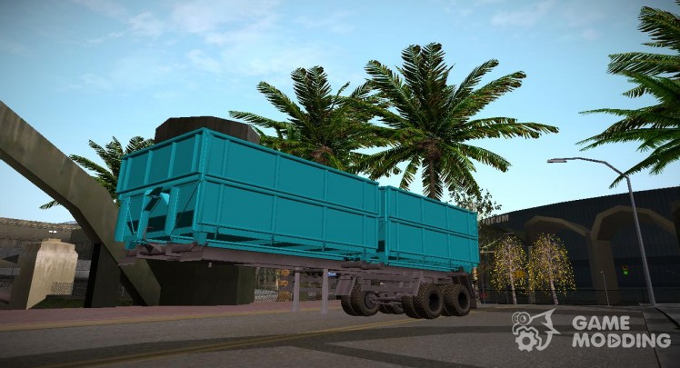 The MAZ trailer Farming Simulator 2015