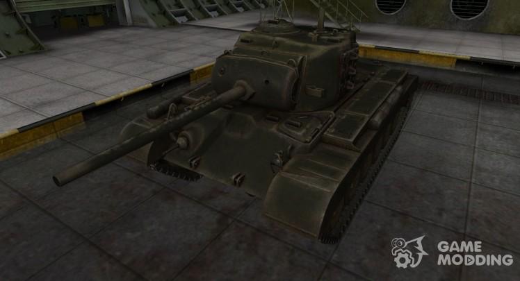 Шкурка для американского танка M26 Pershing
