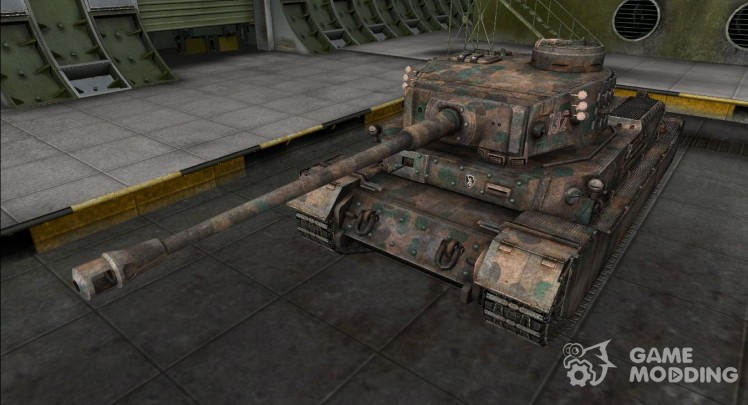 Remodelling for Panzer VI Tiger (P)