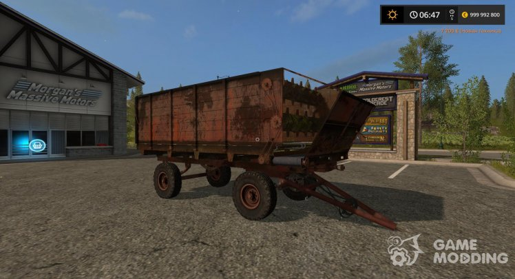 Feeder KTU-10 for Farming Simulator 2017