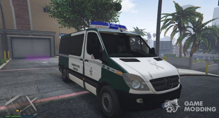 2006 Mercedes-Benz Sprinter 211 CDI Guardia Civil Trafico Spanish Traffic Police