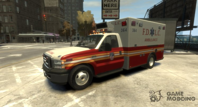 2005 Ford F-350 F. D. L. C. Ambulance
