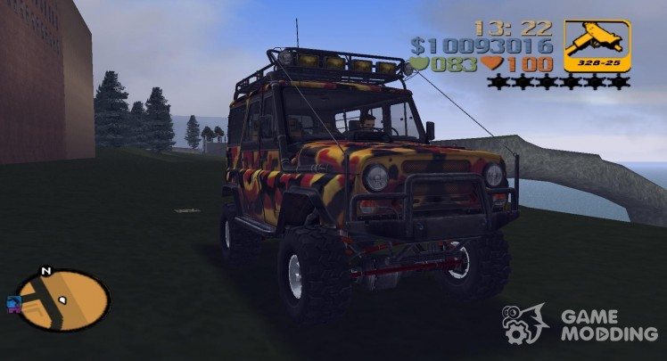 UAZ 31514 for trophy raids