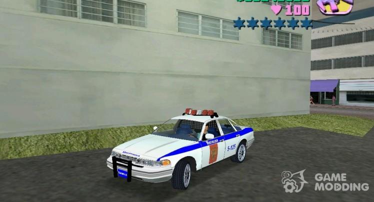 Police Car for GTA Vice City