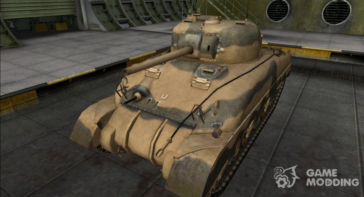 The skin for the M4 Sherman (remodel)