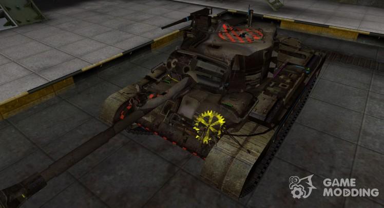 Контурные зоны пробития M46 Patton